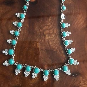 Teal Ann Taylor loft necklace